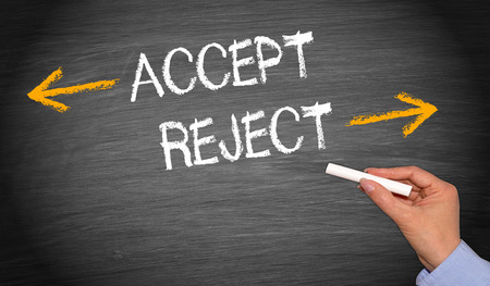 verifying: Accept or reject - Decision Concept