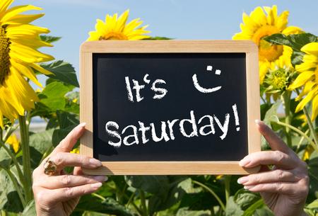 sat: It is Saturday