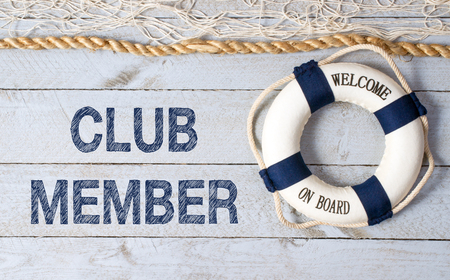 only members: Club Member - Welcome on Board