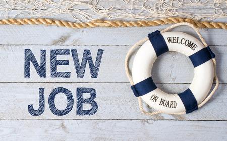 새로운 직업 - 이사회에 오신 것을 환영합니다. 스톡 콘텐츠