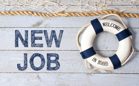 New Job - Welcome on Board Stock Photo - 46607533