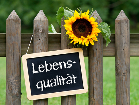 quality of life: Quality of Life - german text