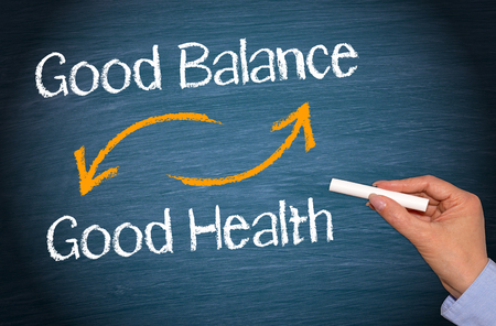 buena salud: Buen equilibrio y una buena salud