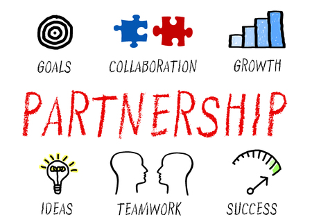 concept: Partnerstwo - Business Concept Zdjęcie Seryjne