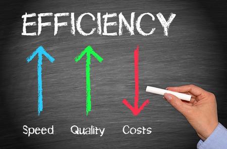 Efektywność Business Concept Zdjęcie Seryjne