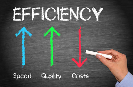 Efficiency Business Concept Stock fotó - 47408181
