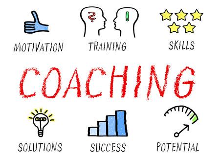 Coaching - Formazione e prestazioni Archivio Fotografico - 47408391