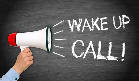 Wake up Call Stock Photo