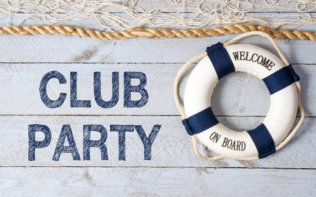 Club Party - Welcome on Board Stock fotó - 47718481