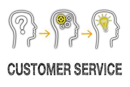 servicio al cliente: Servicio De Cliente Foto de archivo