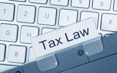 tax law: Tax Law Stock Photo