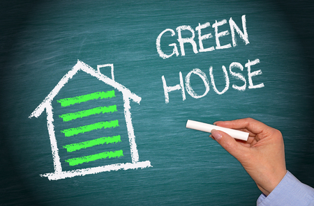 ecological: Green House with Energy Efficiency
