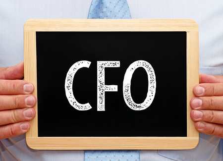 financial controller: CFO - Chief Financial Officer Stock Photo