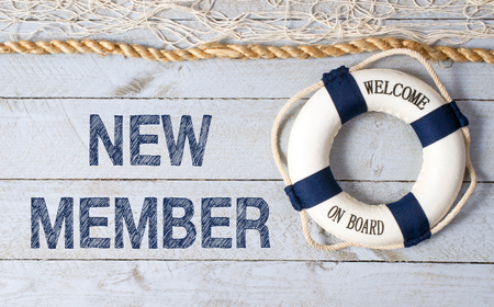 only members: New Member - Welcome on Board