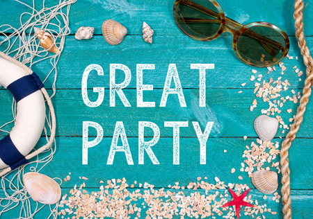 summer holidays: Great Party at the Beach - Summer Holidays