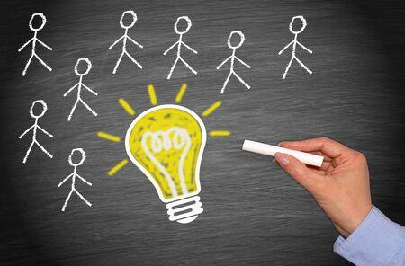 intelligent partnership: Team with great idea