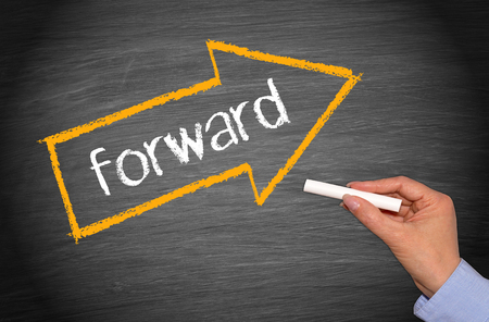 better chances: Forward - arrow with text