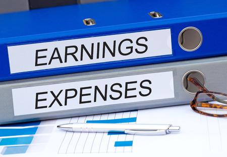 ganancias: Los ingresos y gastos