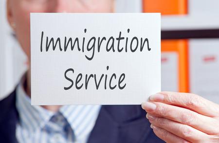 illegal immigrant: Immigration Service