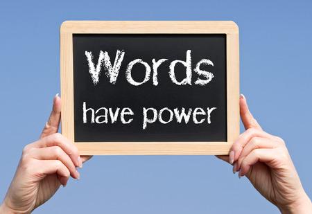 pozitivní: Slova mají moc