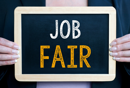 Job Fair Standard-Bild