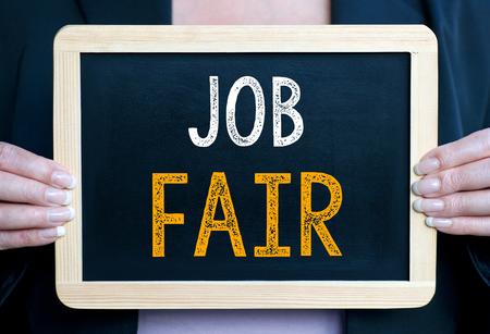 Job Fair Standard-Bild
