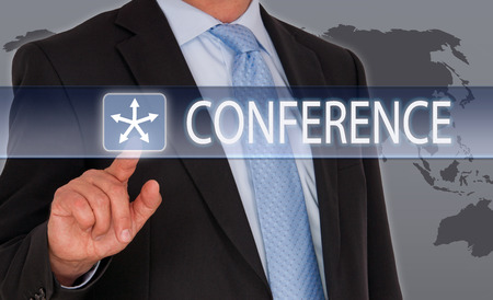 network people: Conference Stock Photo