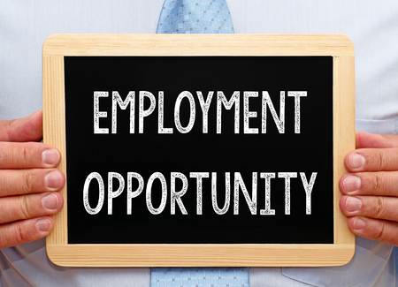 opportunity: Employment Opportunity Stock Photo