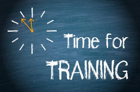 Time for Training Standard-Bild