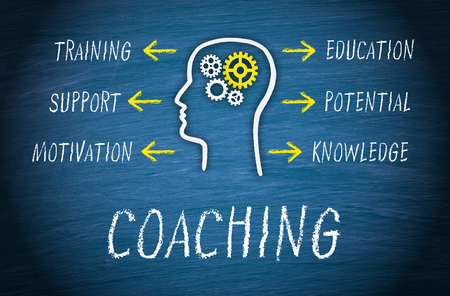 growth: Coaching Business Concept