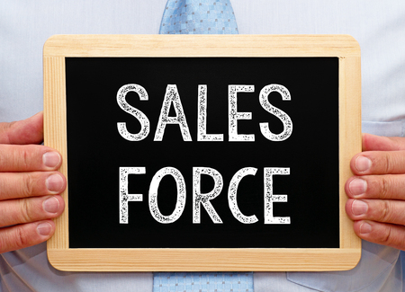 Sales Force Stock Photo - 49240484