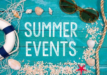 summer Events Stockfoto