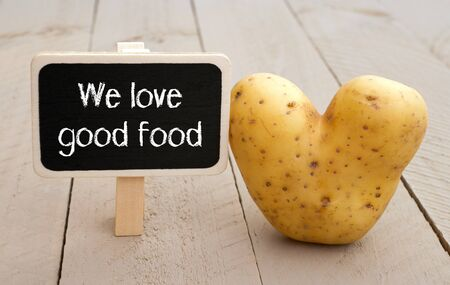 good: We love good food