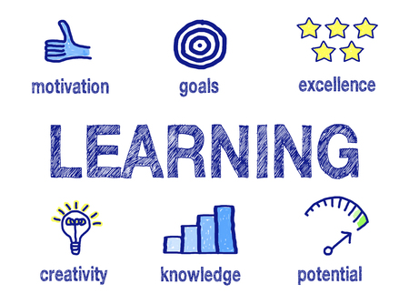 Learning and Education Concept Banco de Imagens