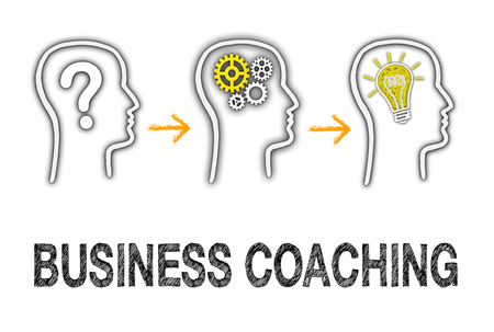 Business Coaching Stockfoto