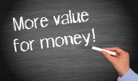 valor: Más valor para el dinero