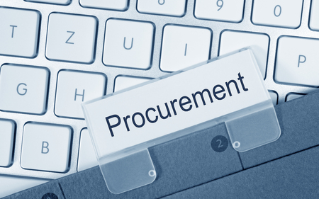 Procurement folder in the office Reklamní fotografie - 50027346