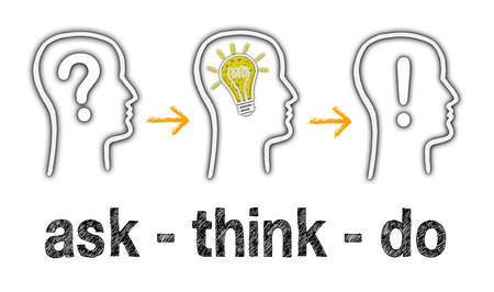 ask: ask - think - do