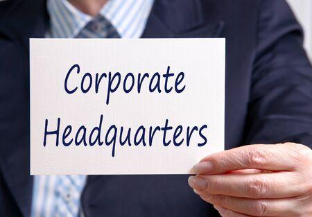 headquarters: Corporate Headquarters