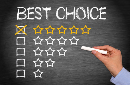 consumer products: Best Choice - five stars