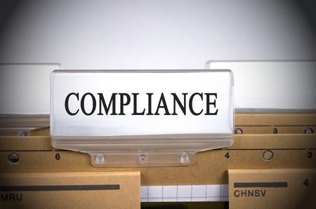 folders: Compliance Folder Register Index
