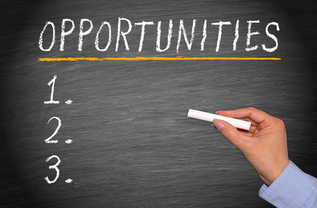 checklist: Opportunities Checklist Stock Photo