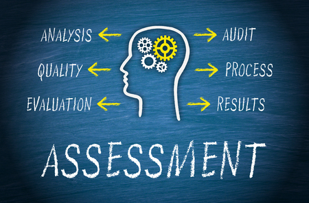 assess: Assessment Business Concept