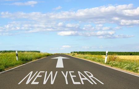 next year: New Year