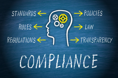 Compliance Business Concept Stock Photo
