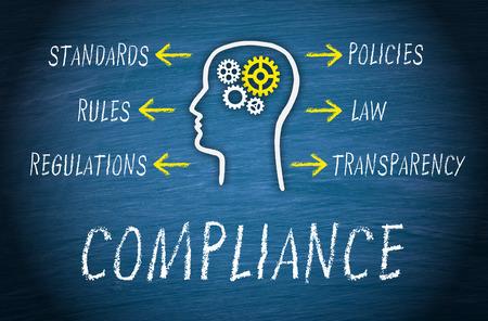 Compliance Business Concept Stock fotó - 50027343