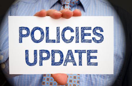 update: Policies Update