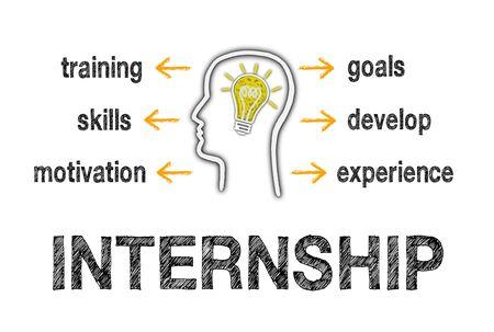 internships: Internship Business Concept