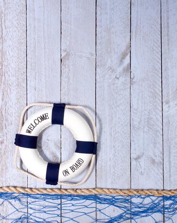 Willkommen an Bord Standard-Bild - 50027272
