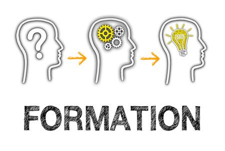 形成と教育ビジネス コンセプト 写真素材